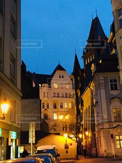 プラハ チェコ。荘厳な雰囲気の新旧シナゴーク。の写真・画像素材[811513]