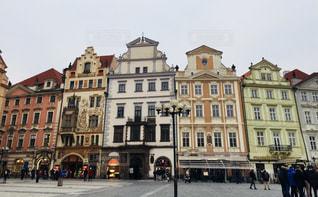 チェコ プラハ歴史地区。旧市街広場です♪の写真・画像素材[822961]