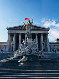 オーストリア ウィーン 国会議事堂♪の写真・画像素材[824625]