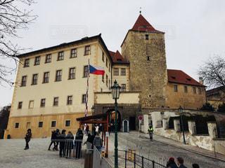 世界遺産のチェコ プラハ城♪の写真・画像素材[827013]