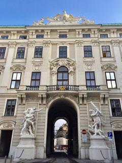オーストリア ウィーン ホーフブルク宮殿♪の写真・画像素材[830198]