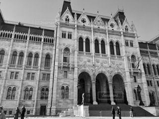 ハンガリー ブダペストの国会議事堂♪の写真・画像素材[831591]