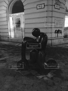 ハンガリー ブダペスト。街角のオブジェ♪の写真・画像素材[837306]