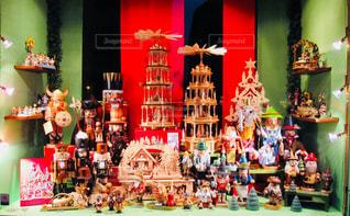 ドイツ ローデンブルク。おもちゃ屋さんのディスプレイ♪の写真・画像素材[871564]