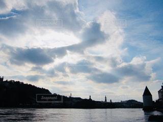 ドイツ パッサウ。青空に広がる雲たち♪の写真・画像素材[877330]