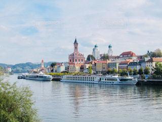 ドイツ ドナウ川沿いのかわいい街、パッサウ♪の写真・画像素材[879006]