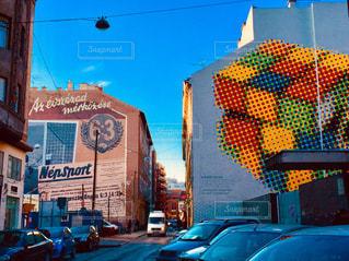 ハンガリー ブダペストの街並♪の写真・画像素材[893999]