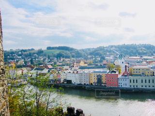 ドナウ川沿いの街、ドイツ パッサウ♪の写真・画像素材[895596]