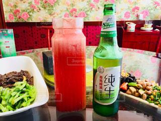 スイカジュース&ビール♪の写真・画像素材[928965]