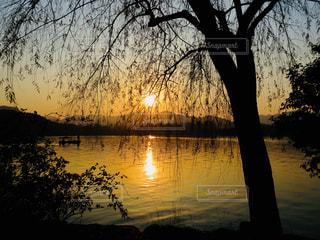 世界遺産の湖、中国 杭州 西湖♪の写真・画像素材[964115]