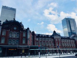 休日の東京駅♪の写真・画像素材[995801]