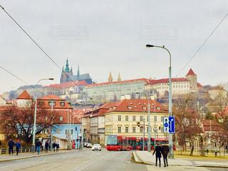 中世の色濃い街、チェコ プラハ♪の写真・画像素材[1024831]