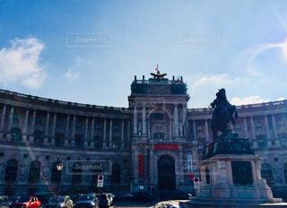 オーストリア ウィーンの国立図書館♪の写真・画像素材[1026466]