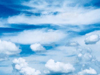 青空のアップ♪の写真・画像素材[1101378]