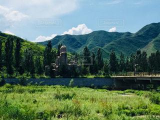 山合いののどかな風景♪の写真・画像素材[1106042]