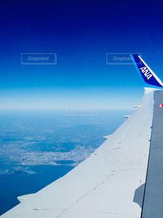 機内からの景色♪の写真・画像素材[1108244]