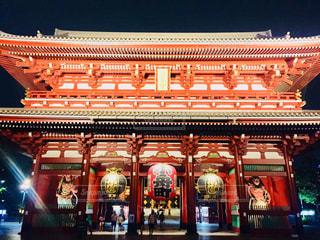 夜の浅草 浅草寺♪の写真・画像素材[1468716]