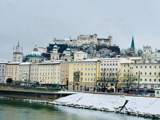 オーストリア ザルツブルクの雪景色♪の写真・画像素材[1786762]