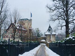 オーストリア ザルツブルクの雪景色。の写真・画像素材[1787382]