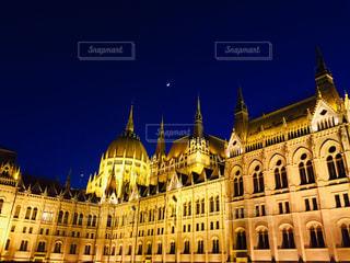 ハンガリー ブダペストの国会議事堂の写真・画像素材[1787393]