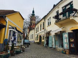 ハンガリー 田舎町センテンドレの1コマ。の写真・画像素材[1788819]