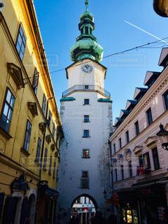 スロバキア ブラチスラバ ミハエル門での1枚♪の写真・画像素材[1790631]