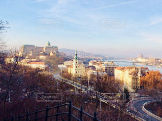 ハンガリー ブダペスト。2月の街並み♪の写真・画像素材[1799659]