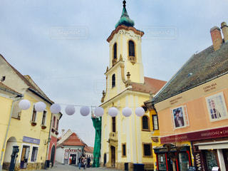 ハンガリーの田舎町センテンドレの街並み♪の写真・画像素材[1800134]