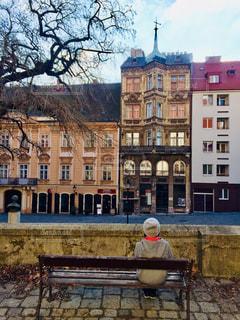 スロバキアの首都ブラチスラバの街並み♪の写真・画像素材[1804674]