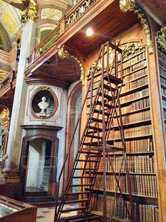 オーストリア ウィーンの国立図書館♪の写真・画像素材[1814861]