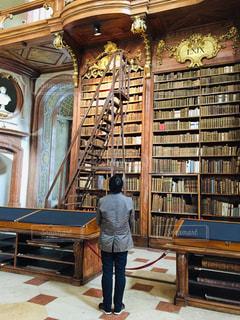 オーストリア ウィーンの国立図書館♪の写真・画像素材[1828073]