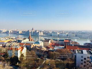 ハンガリー ブダペスト。2月の街並み♪の写真・画像素材[1838250]