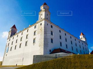 風景,空,建物,冬,屋外,海外,雲,きれい,青空,城,ヨーロッパ,景色,レンガ,観光,タワー,古い,大きい,旅行,可愛い,石,明るい,海外旅行,スロバキア,トラベル,休暇,ビュー,2月,中欧,ブラチスラバ,ブラチスラバ城