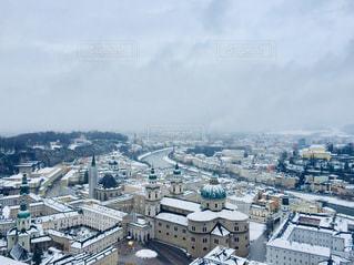オーストリア ザルツブルクの雪景色♪の写真・画像素材[1844040]