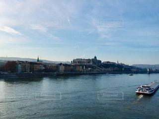 ハンガリー ブダペスト。ドナウ川沿いの街並🇭🇺の写真・画像素材[1851318]