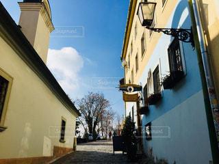 スロバキア ブラチスラバのある路地🇸🇰の写真・画像素材[1851720]