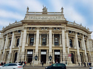 オーストリア ウィーンのブルク劇場🇦🇹の写真・画像素材[1854535]