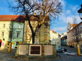 スロバキアの首都ブラチスラバの街並み🇸🇰の写真・画像素材[1879980]