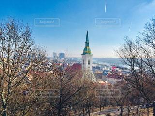 スロバキアの首都ブラチスラバの街並み🇸🇰の写真・画像素材[1999799]