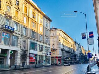 ハンガリーの首都ブダペストの街並み🇭🇺の写真・画像素材[2055476]