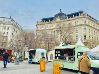 ハンガリー ブダペスト。週末のバザーの様子🇭🇺の写真・画像素材[2057358]