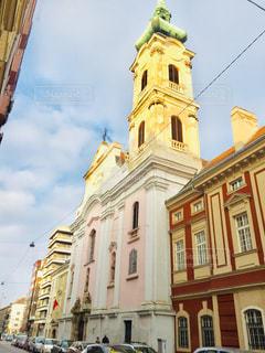 ハンガリーの首都ブダペストの街並み🇭🇺の写真・画像素材[2058571]