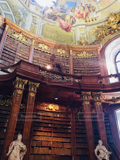 オーストリア ウィーン国立図書館🇦🇹の写真・画像素材[2066695]