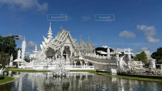 White templeの写真・画像素材[1216743]