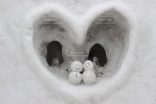 冬,雪,ゆきだるま,雪だるま,ホワイト,北国
