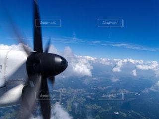 飛行機からの眺めの写真・画像素材[782611]