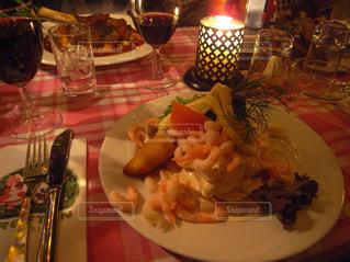 チボリ公園でのディナーの写真・画像素材[803890]