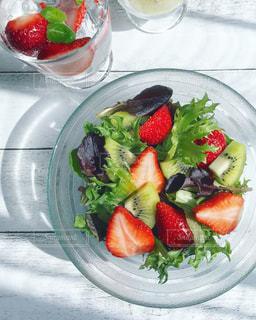 Strawberries Salad🥗の写真・画像素材[1054352]