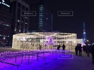 雪,北海道,イルミネーション,クリスマス,札幌