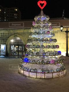 夜景,雪,北海道,イルミネーション,クリスマス